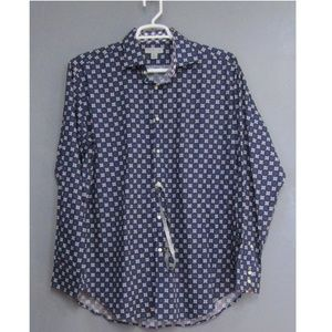 NEW Jack Stone by Thomas Dean Blue Purple Shirt
